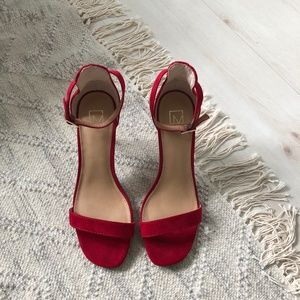 Material Girl Red Heels